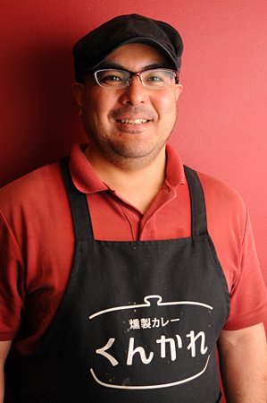 燻製カレー くんかれ 店長八木さん