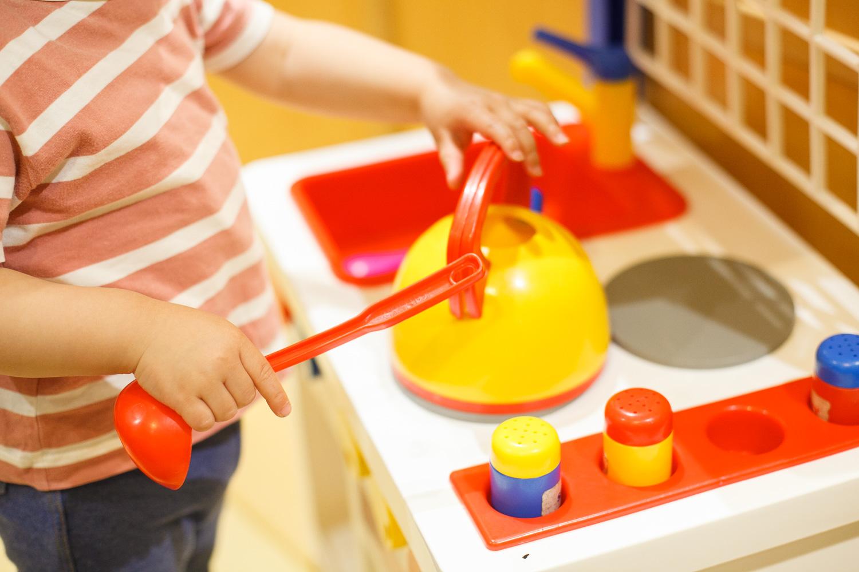 東急百貨店のキッズスペースの隣には「ボーネルンド」のお店もあって、気に入ったおもちゃがあったら購入することもできます。