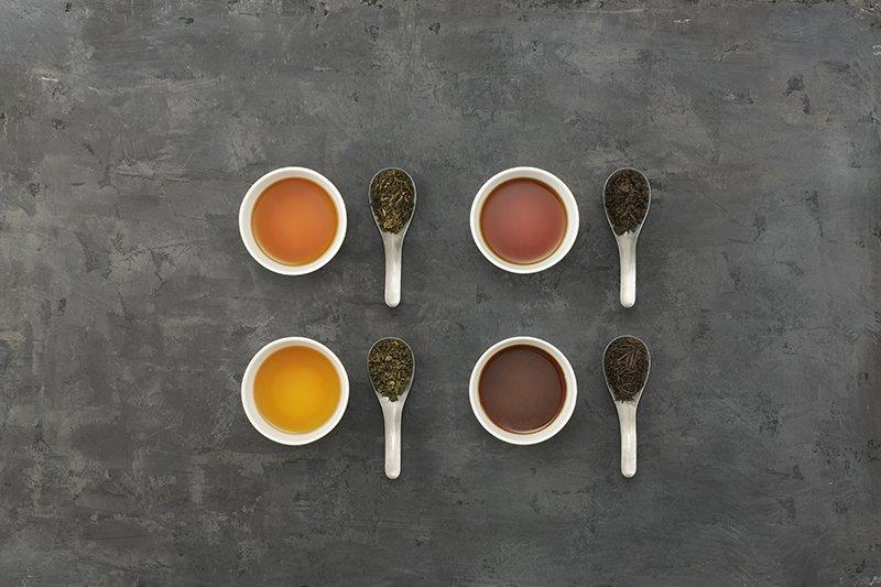 4種類の茶葉が選べる