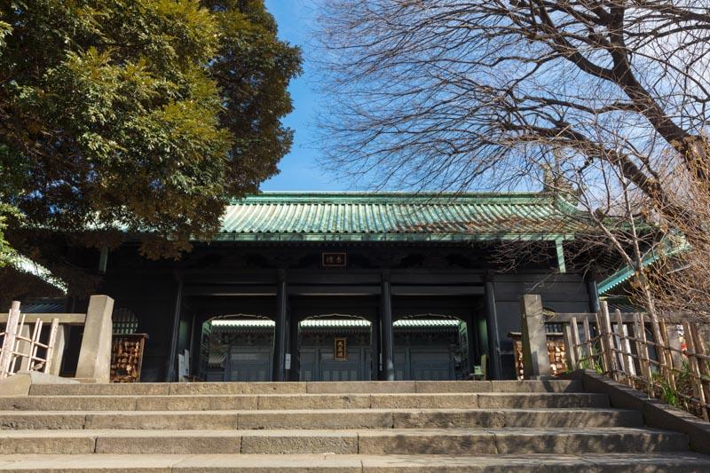 江戸時代の学問所として造られた「湯島聖堂」