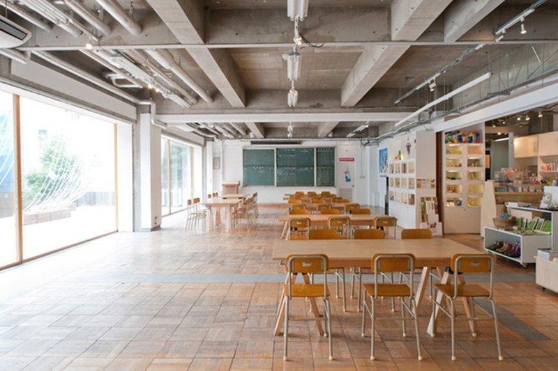 教室がギャラリーに (c)3331 Arts Chiyoda