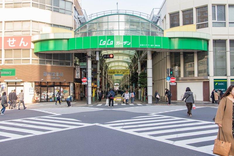「赤羽スズラン通り商店街(LaLaガーデン)」