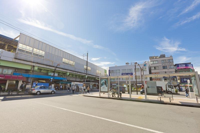 「亀有」駅北口