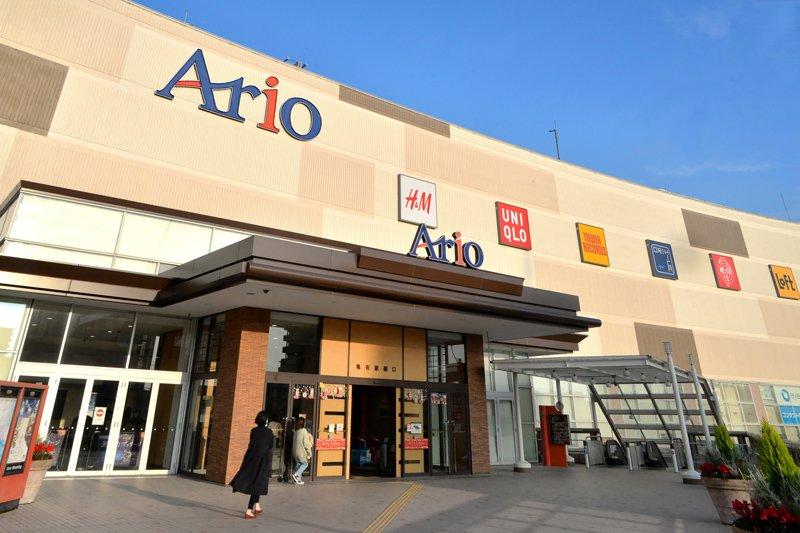大型ショッピングセンター「アリオ亀有」