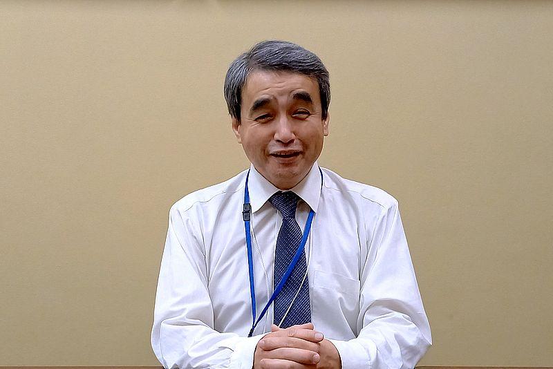 平井南小学校 岡田盛雄校長先生