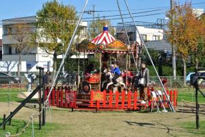 「町田シバヒロ」で開催されている「クリスマスフェスティバル」に行ってきました!