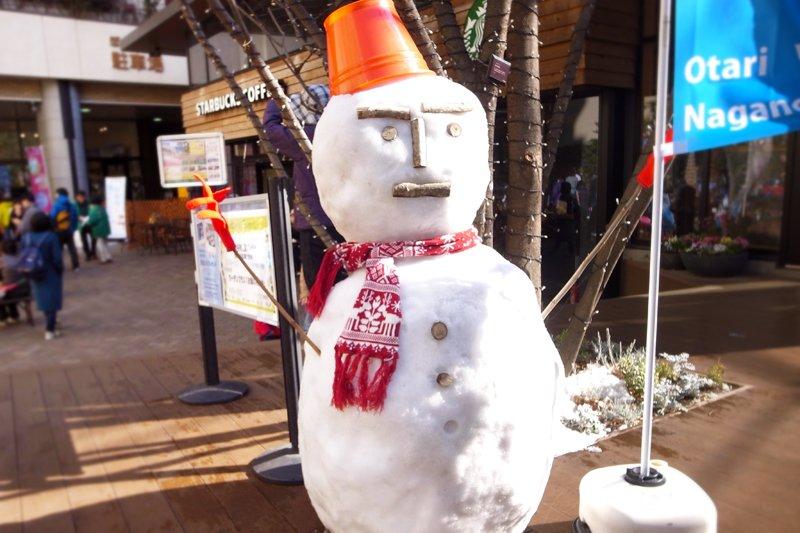おたり村から雪遊びのプレゼント
