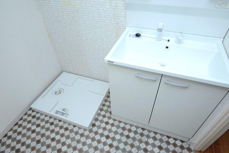 使いやすいシャワー付き洗面台