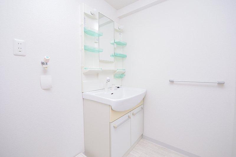 きれいで使いやすそうなバスルーム