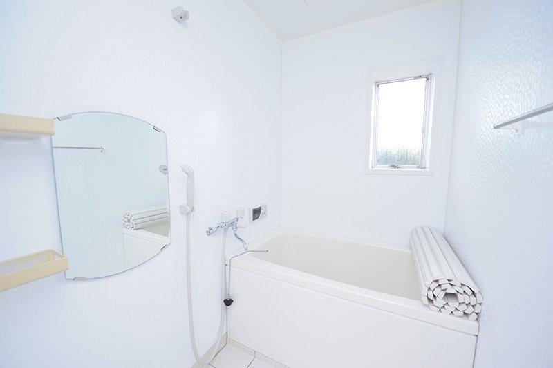 洗面所とトイレもピカピカ状態