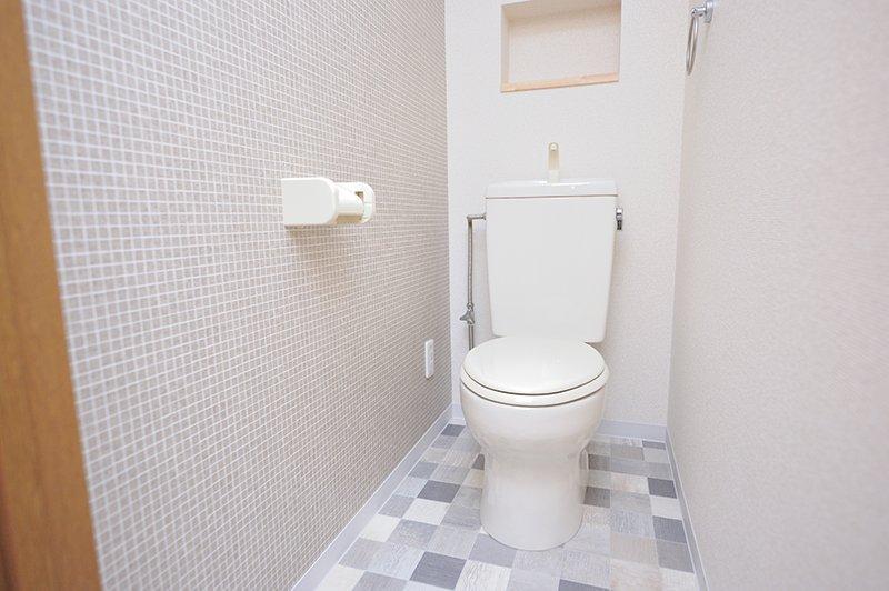 おしゃれな雰囲気のトイレ