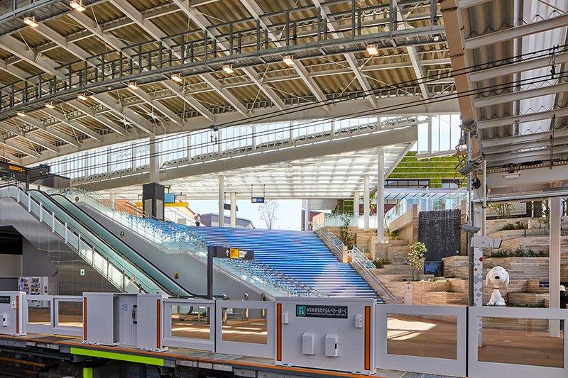 南町田グランベリーパーク駅(提供元:東急・町田市)