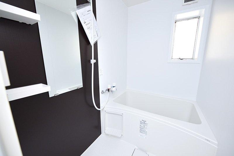 バスルームも新品