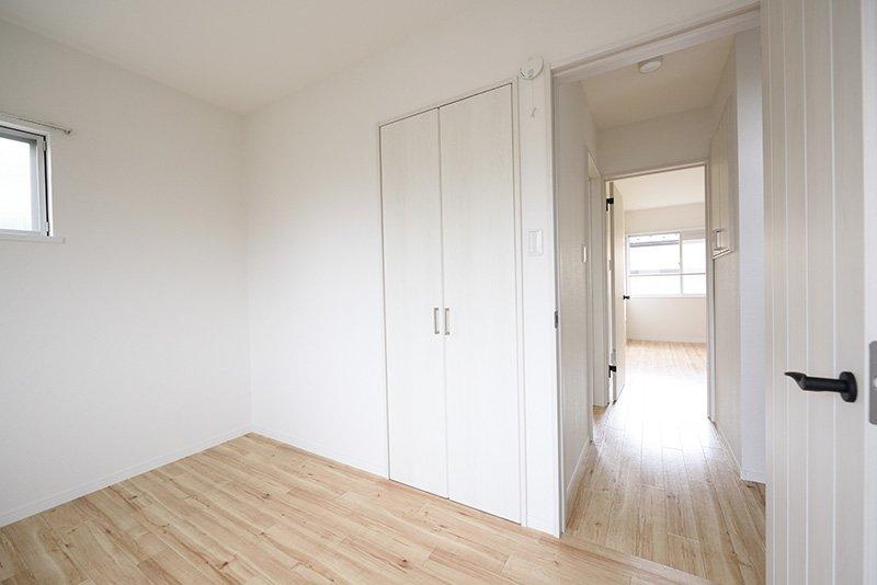 2階は3つの6帖洋室