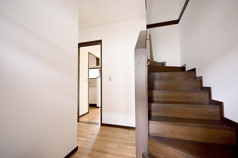 室内階段の様子