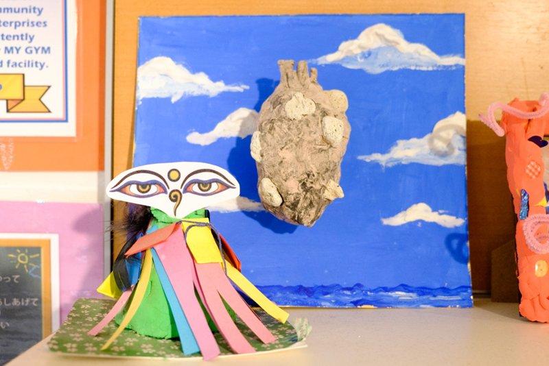 アートクラスの作品