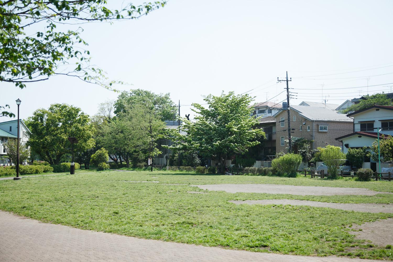 隣には原っぱの広場もあって、のんびりピクニックを楽しめます!