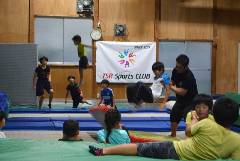 TSRスポーツクラブ 体操教室・トランポリン教室
