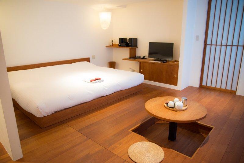 4つのデザインテーマからなる全20客室のホテル