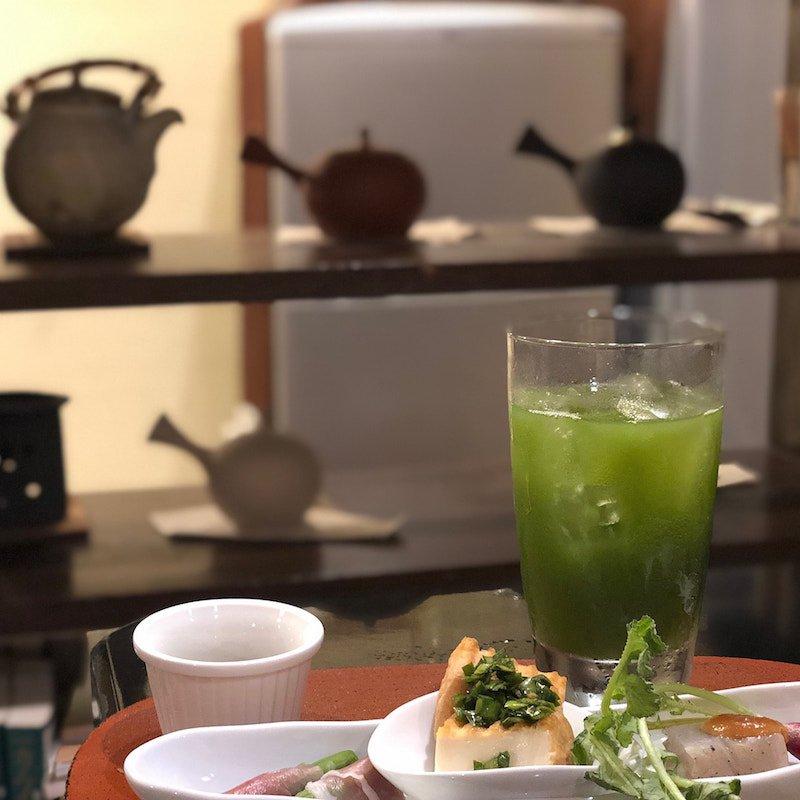 日本茶カフェ茶々工房