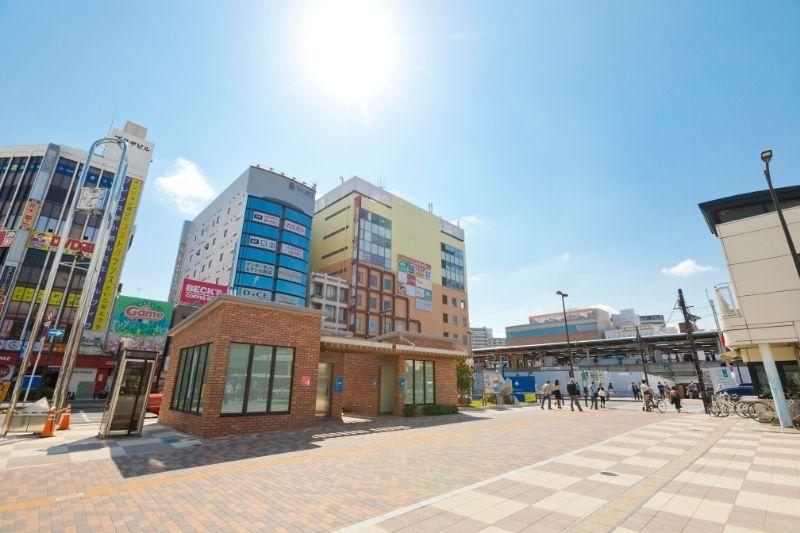 開発が進む「新小岩」駅南口