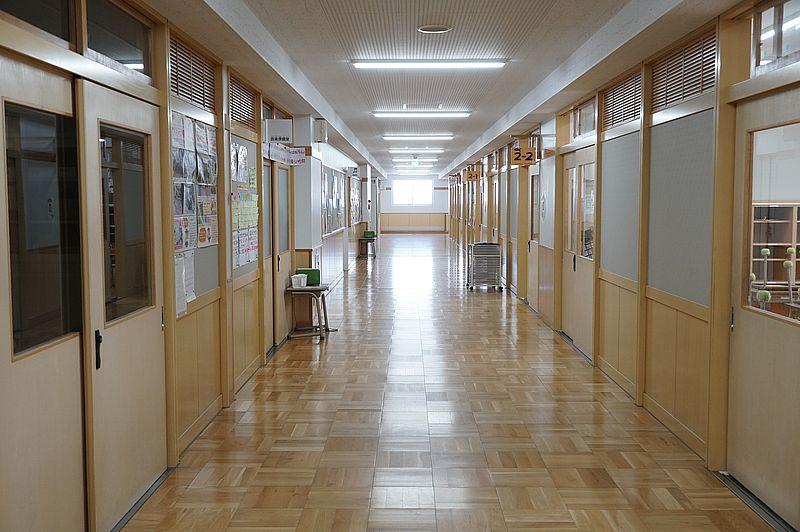 「北砂小学校」校内 ~夏休み中の静かな風景~