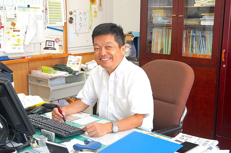 原弘義 校長先生